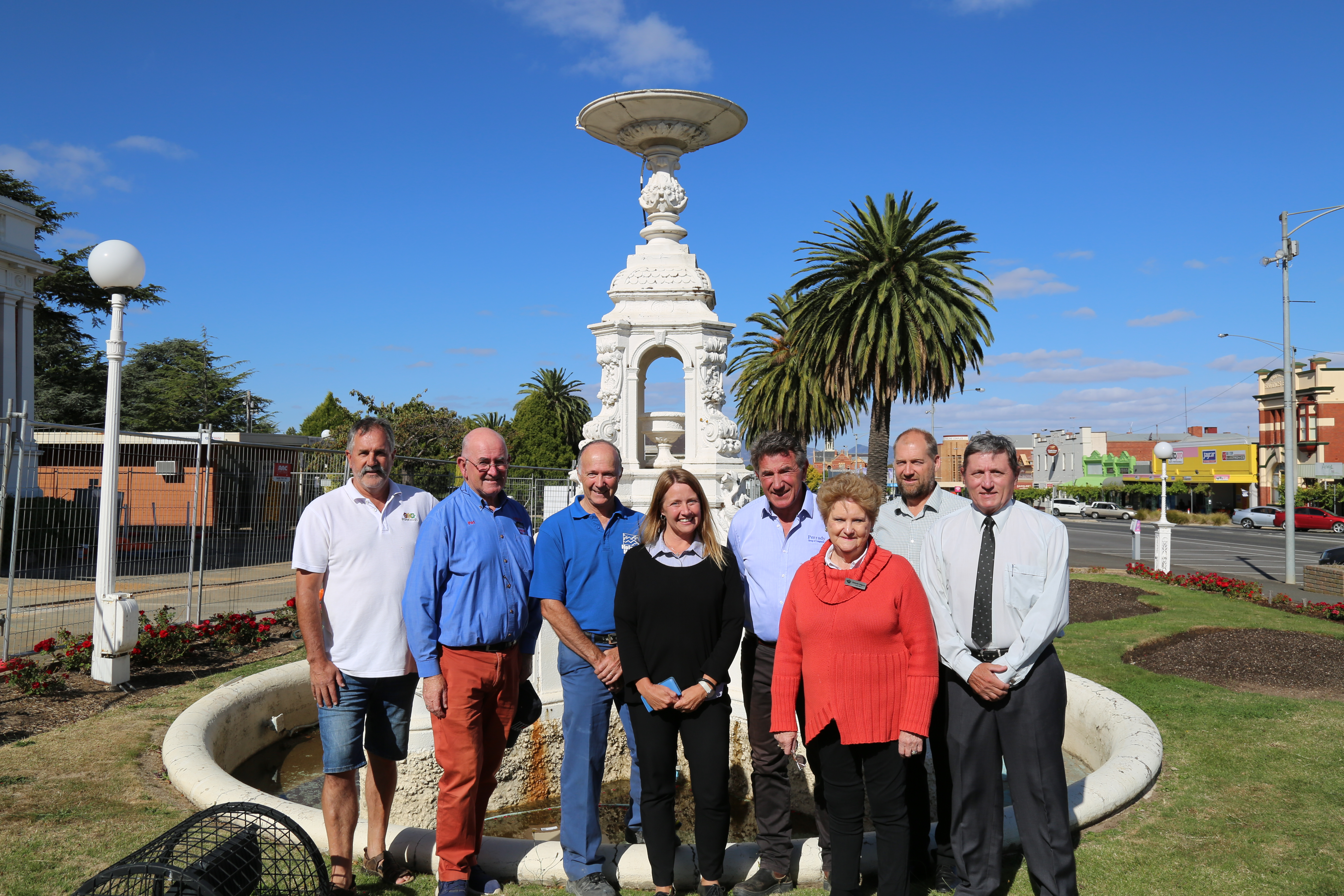 Funding for Fountain Restoration Project