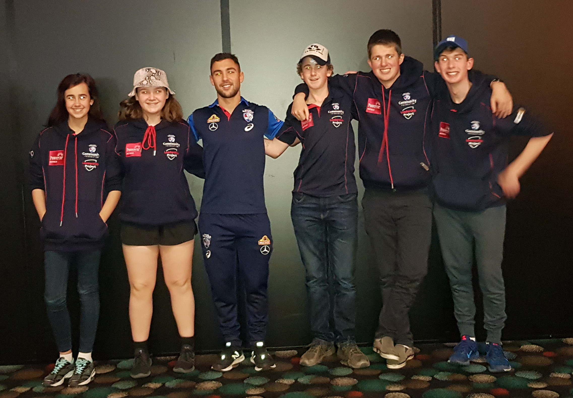 Western Bulldogs Leadership Project participants learn new skills
