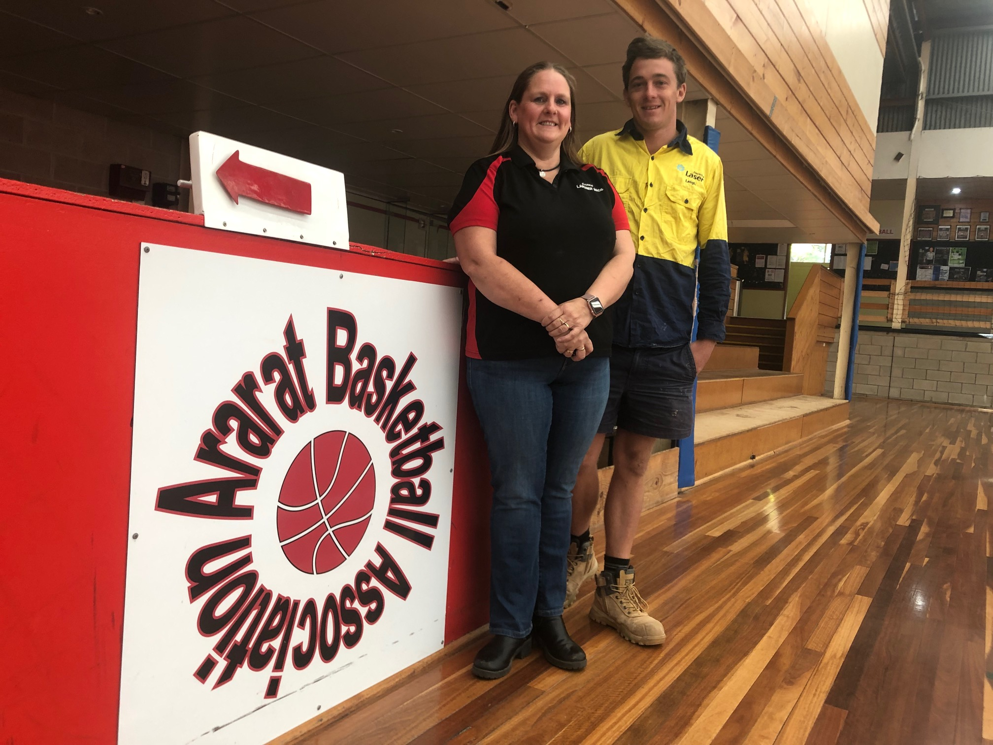 Air conditioning to make playing more pleasant for basketballers