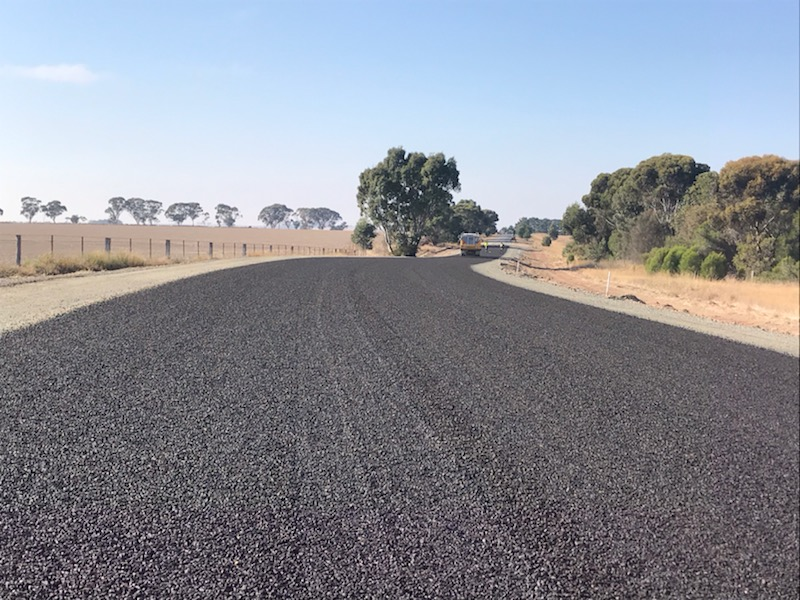 Road reconstruction projects nearing completion