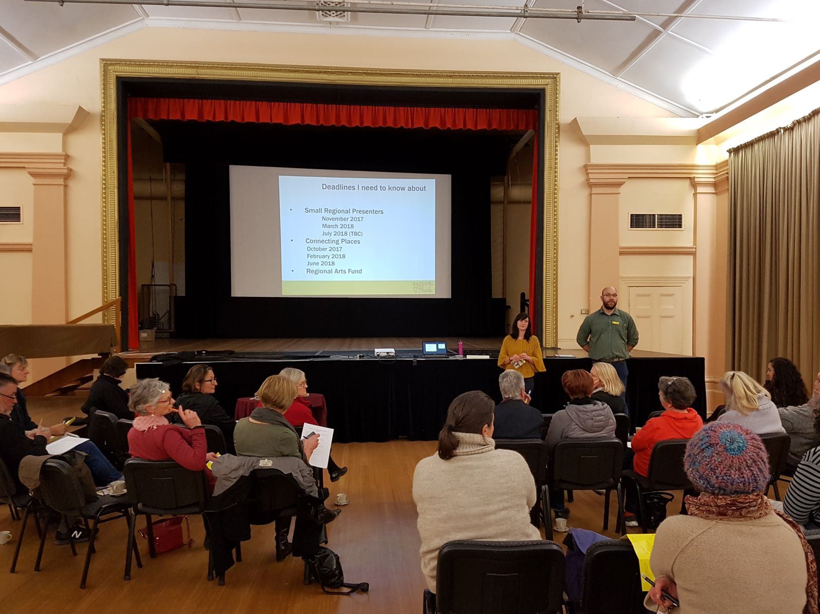 Arts workshop to help attract acts