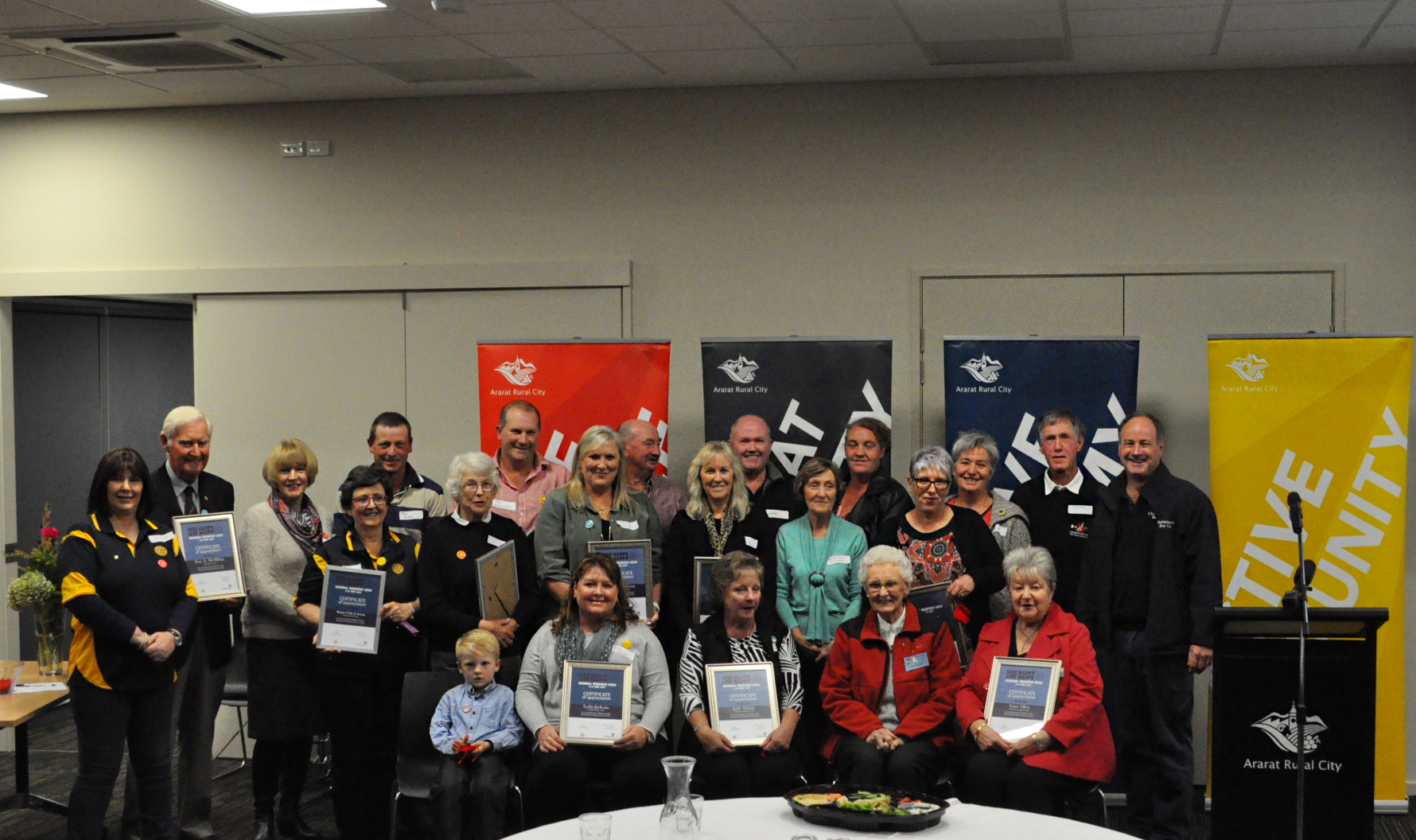 Ararat's volunteers recognised by Council