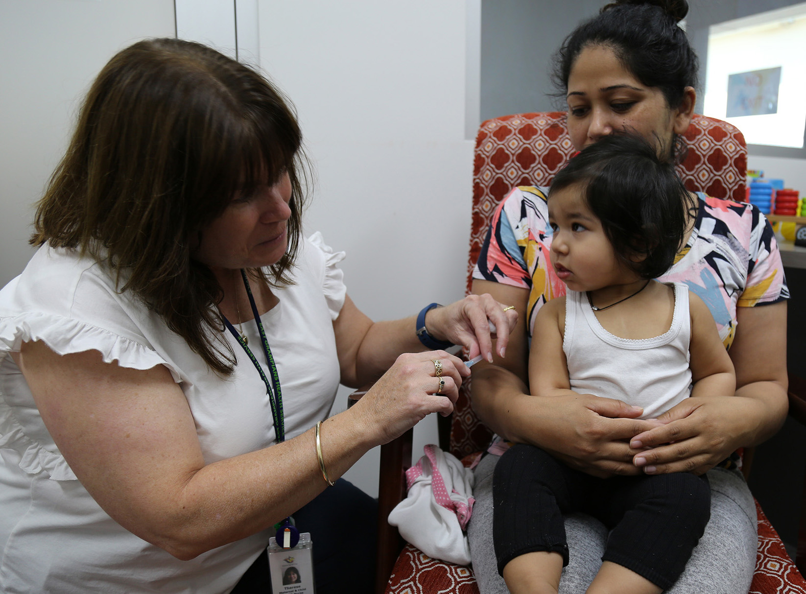 MODIFIED - PLEASE CALL FIRST Free immunisation session for 0-4 year olds