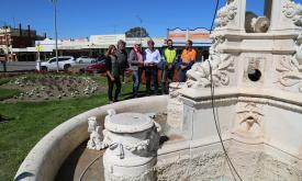 Ararat Memorial Fountain restoration update
