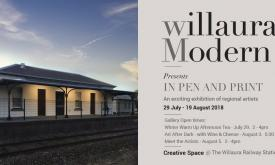 Willaura Modern presents - In Pen and Print Exhibition