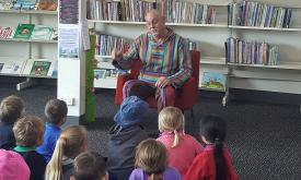 Pre-School Story Time at the Ararat Library
