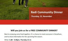 Redi Community Dinner - Streatham