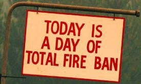 Total Fire Ban today 30 January 2019